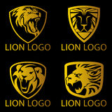 Lion Concept Logo Royalty Free Stock Image