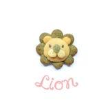 Lion cookies Stock Image