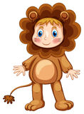 Lion costume Royalty Free Stock Images