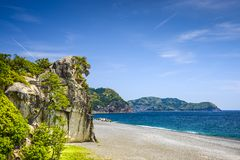 Lion Crag in Kumano Japan Royalty Free Stock Photo