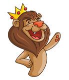 Lion crown Stock Images