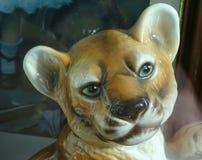 Lion Cub antico Fotografia Stock Libera da Diritti