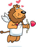 Lion Cupid Stock Photography