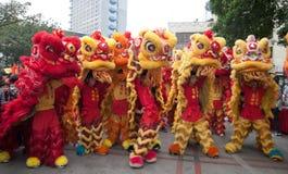 Lion Dance Fotos de archivo libres de regalías