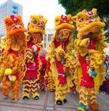 Lion Dance Fotos de archivo