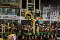 Lion Dance Image libre de droits