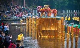 Lion Dance Lizenzfreie Stockfotografie
