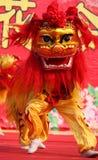 Lion Dance Fotografía de archivo