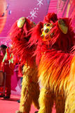 Lion Dance Royalty-vrije Stock Afbeelding
