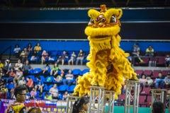 Lion Dance Lizenzfreies Stockbild