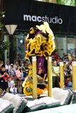 Lion Dance Championship Lizenzfreies Stockfoto