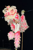 Lion Dance of Cheung Chau Bun Festival 2011 Stock Image