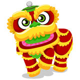 Lion Dance for Chinese New Year Royalty Free Stock Photos