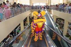 Lion dance Stock Photo