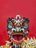 Lion Dance Costume Fotografía de archivo