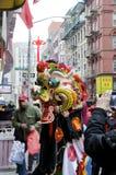 Lion Dancer Foto de archivo libre de regalías