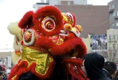Lion Dancer Imagen de archivo libre de regalías