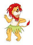 Lion that dances Stock Images