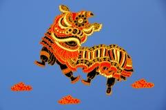 Lion Dancing Stock Image