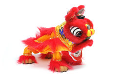 Lion Dancing Figurine Royalty Free Stock Photos