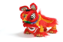 Lion Dancing Ornament Stock Photography