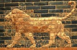 Lion de Babylone Photographie stock libre de droits