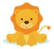 Lion de chéri Images libres de droits