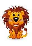 Lion de dessin animé Photographie stock