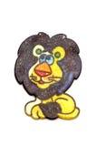 Lion de jouet de peinture Photos stock