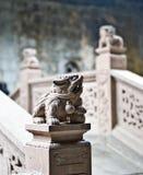 Lion de marbre Photos libres de droits