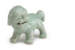 Lion de porcelaine Images stock