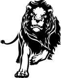 Lion de remplissage illustration libre de droits