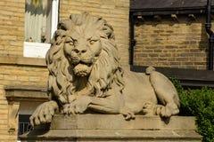 Lion de Saltaire - guerre image stock
