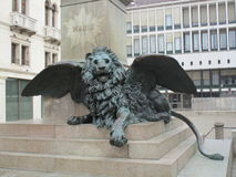 Lion de St Mark Photos stock