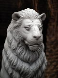 Lion de statue photo stock