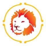 Lion de vecteur Images libres de droits