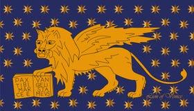 Lion de Venise Photos libres de droits