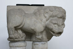 Lion Decoration Element royaltyfri fotografi