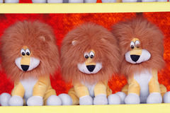 Lion dolls Royalty Free Stock Images