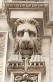 Lion on the Dome Royalty Free Stock Image