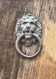 Lion Door Knocker Royalty Free Stock Photo