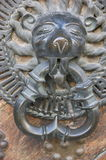 Lion door knocker Stock Photography