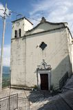 Roccapipirozzi. Church of Santa Maria Assunta. Church of Santa Maria Assunta. Roccapipirozzi is the only hamlet of the municipality of Sesto Campano & x28;IS& royalty free stock image
