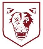 Lion emblem. Illustrator desain .eps 10 Stock Photo