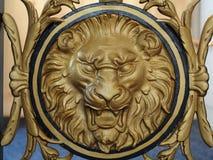Lion Emblem på räcket på San Francisco City Hall arkivfoton