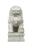 Lion en pierre chinois Images stock
