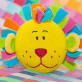 Lion face bath toy Stock Photography