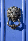 Lion Face Door Knocker Stock Images