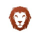 Lion Face heraldic animal element. Heraldic Coat of Arms decorat Royalty Free Stock Images