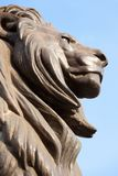 Lion Face Statue Royalty Free Stock Photo